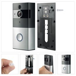 Video ring online shopping - M1 M3 Wifi Video Doorbell Wireless Intercom Night Vision Door Phone Ring Bell Camera For P MP HD Apartments PIR Alarm Security PC