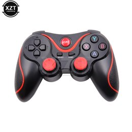China 1pcs Wireless Joystick T3 Smart Game Controller Bluetooth 3.0 Android Gamepad for Android phones tablets PC hot sale cheap tablet bluetooth controller suppliers