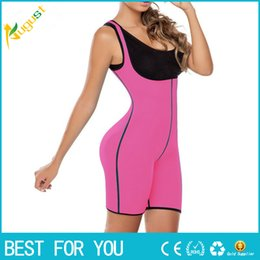 Body Fitness Suit Canada - New Both Sides Sport One Piece Body Shaper Body Suit Butt Lifter Gym Fitness Slimming Fitness Ultra Sweat Corset