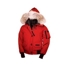 2018 Mujeres Bomber Femme Aire libre chaqueta de piel abajo Hiver grueso cálido a prueba de viento Goose Down Coat espesar Fourrure chaqueta con capucha Manteaus Doudoune