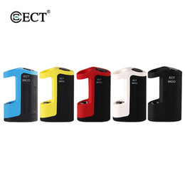 China Original ECT Mico vape mod for Thick oil 350mAh fit for 510 Thread vape cartridges Vaporizer Kit 510 Thread Battery Electronic Cigarette cheap electronic cigarette vaporizer mod suppliers