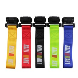 car tuning stickers 2019 - RASTP-Universal  New Arrived Car Tuning Tow Rope Latest technology sticker style tow rope RALLIART Style Tow Strap Easy