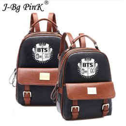 Sporting Kpop Bts Bangtan Boys Backpack Love Yourself Lovely Travel Bag For Teenagers Girls Silk Ribbon Round Ring Schoolbag Pink High Resilience School Bags Kids & Baby's Bags