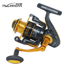 Coil reel online shopping - Series Spinning Fishing Reel BB Aluminum Alloy Spool Lure Reels Carretes Coil Pesca Molinete Peche