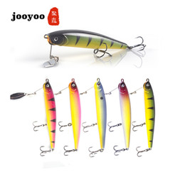 new hard fishing lures NZ - New Fishing Lure Hard Bait 14.7g  11.5cm Sea Fishing Tackle Pencil Bionic Minnow Fish Bait jooyoo Brand