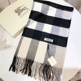 Scarf Square Cotton Australia - New brand cashmere scarves classic designer cashmere scarves fashion large squares printed cashmere scarves wholesale