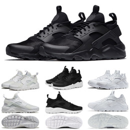 e7fe7292e983 New Huarache Running Shoes 1.0 4.0 Mens Women Triple White Black Red Grey  love hate pack Trainers Huaraches Sports Sneaker 36-45