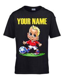 Personalized Soccer Shirts Australia - Kids Personalized t-shirt - Little  Soccer Boy 7e108c5fe