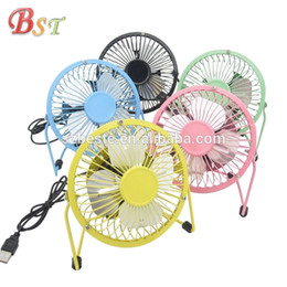 Wholesale 2018Metal mini USB FANS 5V Mini Rechargeable Fan Freeshipping Smallest Fans With Cool Wind For Kids