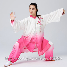 $enCountryForm.capitalKeyWord Australia - Embroidery Chinese Wushu uniform Kungfu clothing Tai chi garment Martial arts suit taiji sword kimono for men women girl boy kids adults