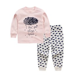 Red White Blue Tutus UK - Pink bebes baby cotton suits sets children's clothing set baby girl suits two-piece suits cotton clothes for children 12m3t-8T