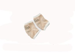 Discount toddler crawling knee pads - 2018 summer new baby elbow cotton mesh breathable baby toddler crawling knee anti-fall children knee pads