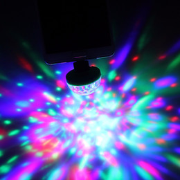USB Led Light Crystal Portable Stage Light For Christmas Party Holiday Colorful Stage Lighting DJ Laser Projector Effect from tool mounting suppliers