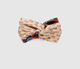 Chinese  Luxury Brand Turban Headbands Echarpes Foulards Cachecol Hot Designer Flower Elastic Silk Headband Hair Bands for Men and Women Best Quality manufacturers