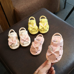 Wholesale Sandal Kids Footwear Children Sandals Toddler Shoes Boys Girls Baby Shoes Baby Summer Infant Sandals Pink Yellow T