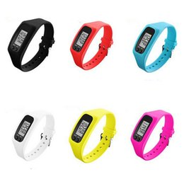 ac5c9383fa1 GlobalTop Digital LCD Pedometer Run Step Walking Distance Calorie Counter  Watch Bracelet DHL