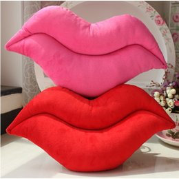 $enCountryForm.capitalKeyWord Australia - Sexy Lips Pillow Home Sofa Seat Chair Car Throw Cushion Cover Cases Decor Lumbar Support Seat Pad Baby Child Children Toddler Infant Toy