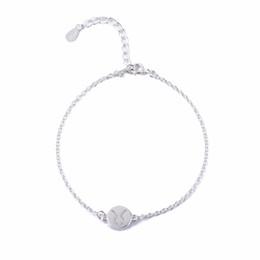 $enCountryForm.capitalKeyWord NZ - yiustar Silver Taurus Bracelets Signs 12 Zodiac Constellation Women Charm Bracelet for Women Wedding Gift B061