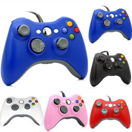 Joystick for pc computer online shopping - USB Wired Game Controller For xbox360 Gamepad Joypad Joystick For Xbox Controller Slim Accessory PC Computer