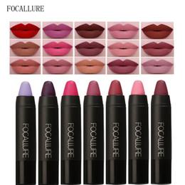 China FOCALLURE 19pcs set Waterproof Matte Lipstick Makeup Cosmetics Long Lasting Nude Women Lipsticks Gloss Lip Make Up Crayons Set supplier make lipstick waterproof suppliers