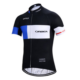 2018 ORBEA team Cycling Short Sleeves jersey Summer Breathable Cycling Clothing Stylish Cycling Gear c1427