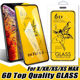 $enCountryForm.capitalKeyWord Australia - 6D Full Glue Tempered Glass For Huawei P30 Lite Iphone XR XS MAX X 8 7 6S Plus Screen Film With Retail Package