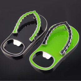 8deb1bd038cf49 Flip Flop Bottle Openers Slippers Design Beer Bottle Opener Wedding Party  Favor Gift Household Supply ZA6897