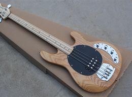 $enCountryForm.capitalKeyWord NZ - 2018 4-string ASH Body Electric Bass Guitar with Maple Fingerboard,Black Pickguard,Good Quality