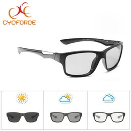 Cycling Australia - CYCFORCE Photochromic Men Polarized Cycling Sunglasses Women Road MTB Bicycle Outdoor Sports Bike Goggles Eyewear Mirror Driving