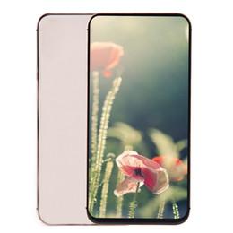 4G LTE Goophone XS Max XR V8 4GB 32GB de carga inalámbrica Identificación de la cara 64 bits Quad Core MTK6739 6.5 5.8 pulgadas All Screen GPS 13MP Cámara Smartphone