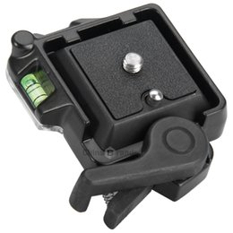 Soporte de cámara de placa de liberación rápida MH630 con tornillo de 1/4 pulgada para Giottos MH7002 - 630