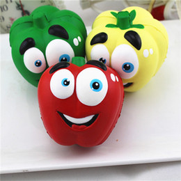 Discount dolls cakes - Squishy Face Pepper Dolls Jumbo Bread Cake Slow Rising chilli Pendant Sweet Cartoon Cream Scented Phone Strap Kid Fun To