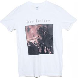 Vente en gros TEARS FOR FEARS T SHIRT T-shirt de musique New Wave Human League Cure graphique des années 80