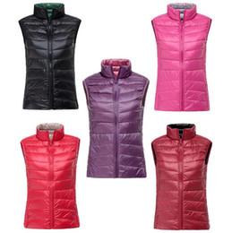 Ultra thin jacket online shopping - Spring Autumn Women White Duck Down Vest Waistcoat Soft Warm Thin Ultra Light Waistcoat Jacket Female Brand Vest Coat