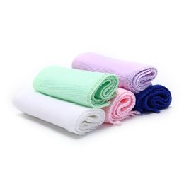 cars cloths 2019 - 25x25cm Square Soft Microfiber Towel Car Cleaning Wash Clean Cloth Microfiber Care Hand Towels House Cleaning 5pcs disco