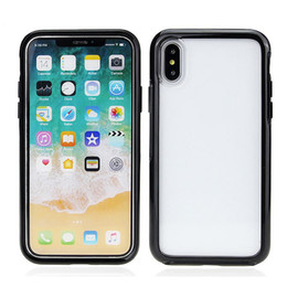 clear rugged cases 2018 - Symmetry series clear case for iphone X 8 7 6S plus commuter case Robot Rugged Hybrid Armor SCA460 discount clear rugged