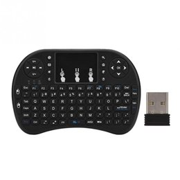 touch pad games 2019 - 2 in 1 Mini Wireless Keyboard multi-touch pad Suitable for home entertainment, multi-media education, training,conferenc