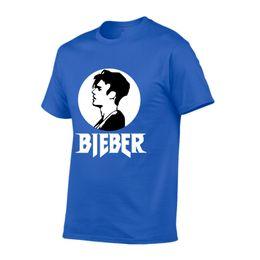 $enCountryForm.capitalKeyWord NZ - IGGY 100% cotton handsome Justin Bieber Man Printed men T shirt Fashion cool confortable men's Tshirt casual t-shirt for men