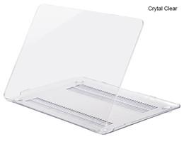 Новый ПК кристально чистый чехол для Apple Macbook Air Pro Retina 11.6 12 13.3 15.4 дюймов сенсорный бар ноутбук чехлы для Macbook сумка