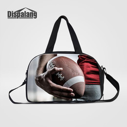 $enCountryForm.capitalKeyWord Canada - Dispalang Newest Folding Travel Bag Rugbys Footballs Soccers Basketballs Duffel Bag Carry-on for Teenagers Luggage Handbag