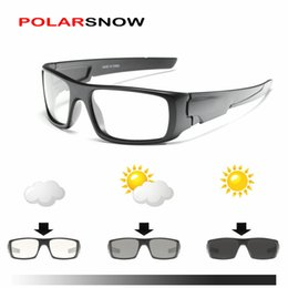 5d91197d650 Polarized Snow Goggles NZ - POLARSNOW Photochromic sunglasses Chameleon  Polarized sun glasses Men All day change