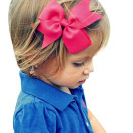 Metal Color Hair Clips Canada - 20pcs Hair Clip Solid Color Hair Bow Headband Accessories Metal Material Hairpin Kid Hair Accessories HC049