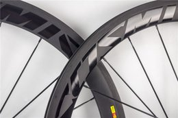 $enCountryForm.capitalKeyWord Australia - 50mm clincher carbon fiber 700c road bike wheels the newest design and decal bicycle wheelsets R36 hub 18 21 or 20 24 holes