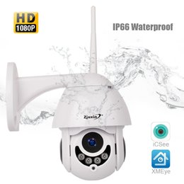 2mp network camera NZ - PTZ IP Camera HD 1080P 2MP Outdoor Network Onvif Speed Dome CCTV IR Night Vision Waterproof security surveillance ipcam exterior