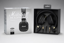 Marshall Major II 2.0 Bluetooth Auriculares inalámbricos Auriculares para DJ Auriculares para graves profundos Auriculares para iPhone X 8 7 Plus Samsung Note8 S9 +