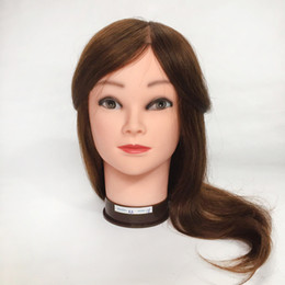 $enCountryForm.capitalKeyWord NZ - Mannequin Head with human hair Maniqui Human Hair Dummy Training Head Cosmetology Mannequin Heads Manikin Head Hair Styling Mannequins