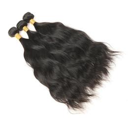 $enCountryForm.capitalKeyWord NZ - Indian Natural Wave Human Hair Bundles 3pcs  lot Unprocessed Virgin Hair Extensions Natural Wave No Tangel No Shedding Free Shipping
