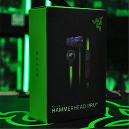 China Razer Hammerhead Pro V2 Headphone in ear earphone With Microphone With Retail Box In Ear Gaming headsets Free Shipping. suppliers
