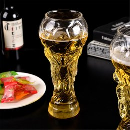 $enCountryForm.capitalKeyWord Australia - Creative Beer Mug Unique Design Crystal Boots Glass Cocktail Cup World Cup Keythemelife Creative Hercules Beer Cup Football Beer Mug