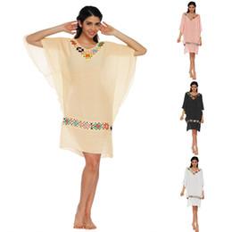 $enCountryForm.capitalKeyWord Canada - 2018 New Women Tassel Cover Up Girls Flower Hollow Out Dress Kimono Cardigan Dress Casual Crochet Lace Chiffon Swimwear Blouse Clothing
